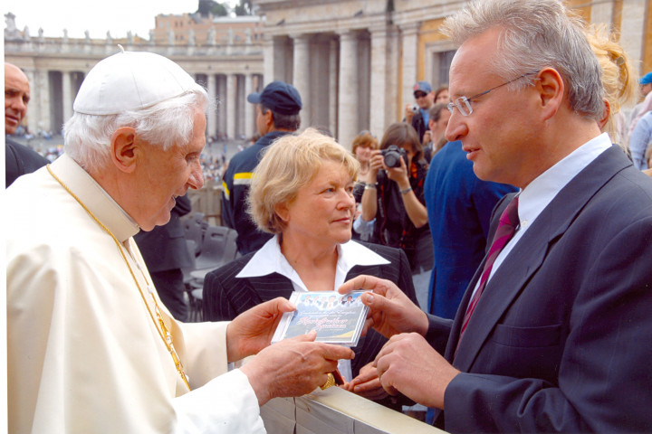 Kastelruther Spatzen Papst Benedikt