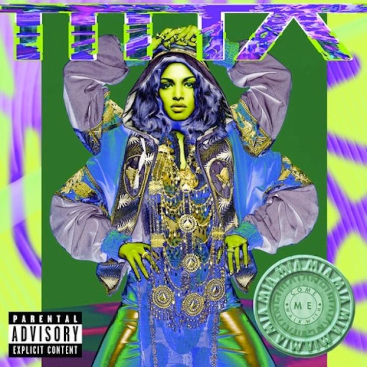 M.I.A. - Come Walk WIth Me (Single)