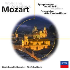 Staatskapelle Dresden, Mozart: Symphonien Nr. 40 & 41 Jupiter, 00028948082704