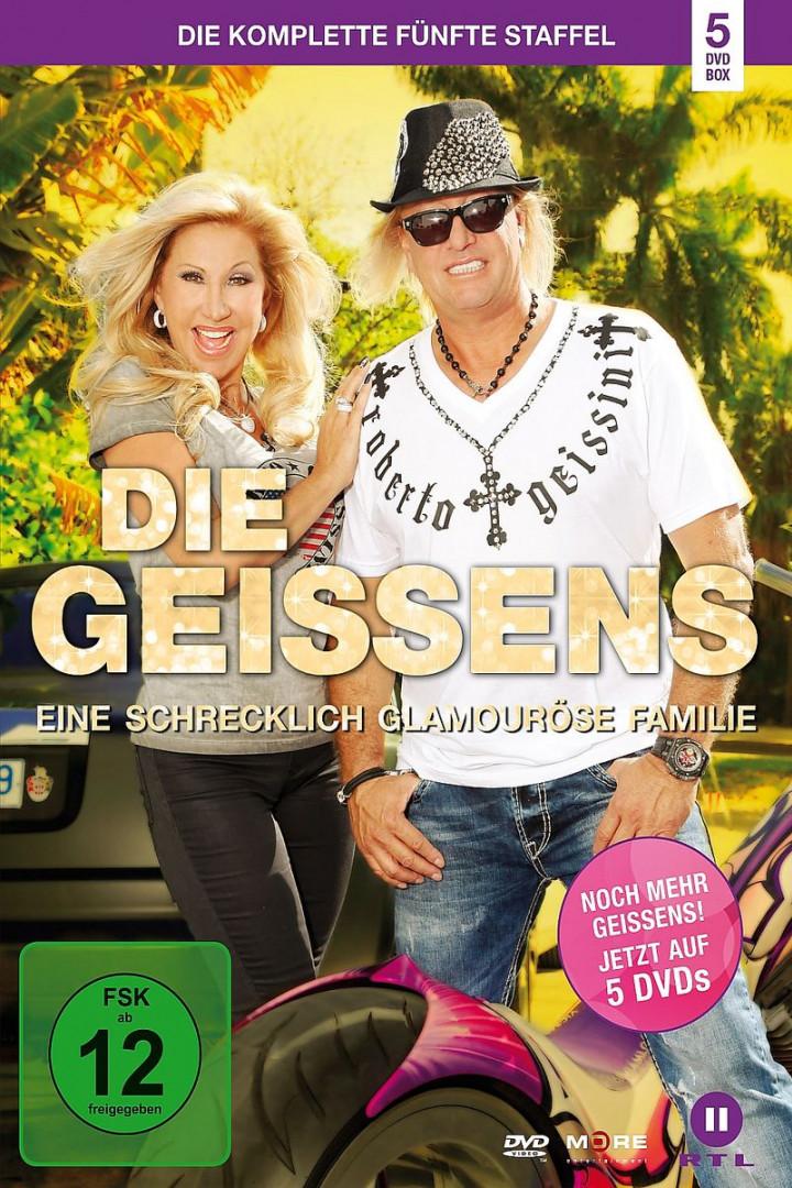 Die Geissens - Staffel 5 (5 DVD): Geissens,Die