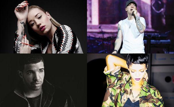 Rihanna, Bei den MTV EMAs 2013 sind diese Universal Urban Acts nominiert