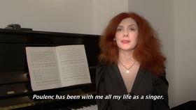 Patricia Petibon, Dokumentation zu Poulenc Stabat Mater