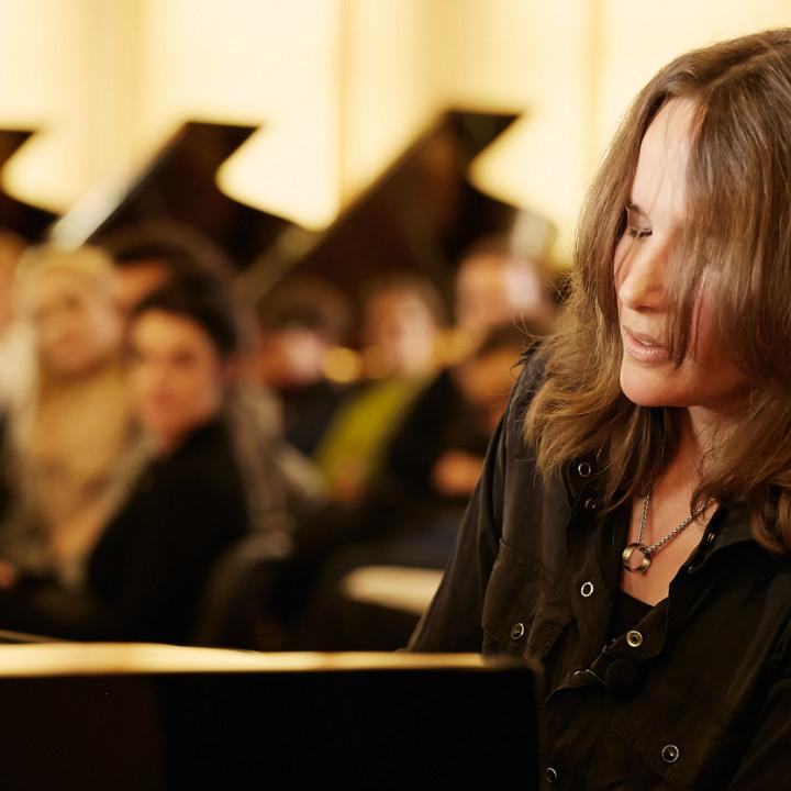 Hélène Grimaud bei Steinway & Sons