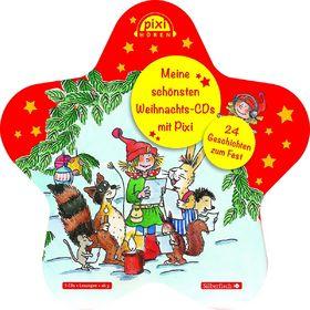Pixi Hören, Meine schönsten Weihnachts-CDs mit Pixi, 09783867428576