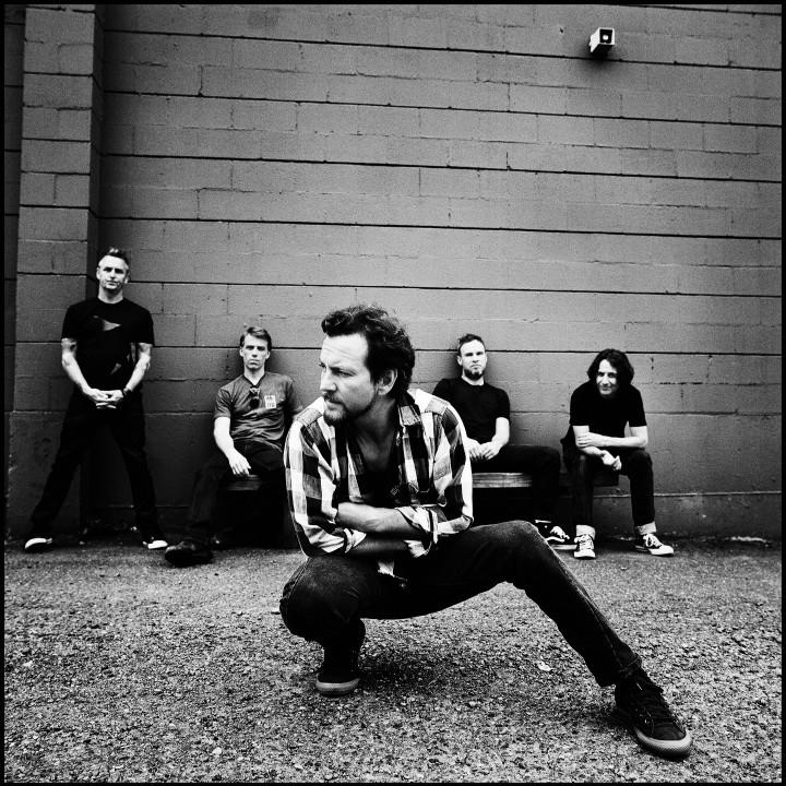 Pearl Jam Pressefoto 2013
