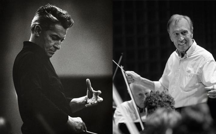 H. v. Karajan / C. Abbado