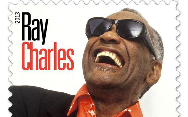 Ray Charles, Ray Charles: Musikikone mit eigener Briefmarke geehrt