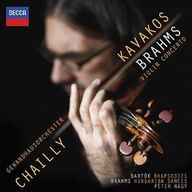 Leonidas Kavakos, Brahms: Violinkonzert, 00028947853428