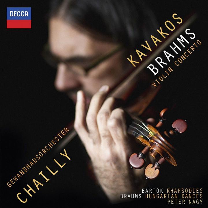 Brahms: Violinkonzert: Kavakos,Leonidas/Chailly,Riccardo/GOL