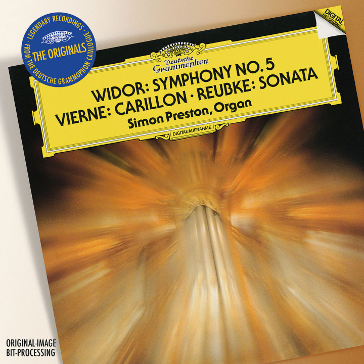 Vierne: Carillon de Westminster / Widor: Symphony No.5 In F Minor / Reubke: Sonata On The 94th Psal