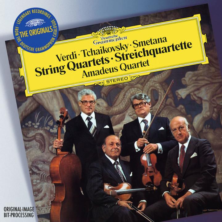 Verdi / Tchaikovsky / Smetana: String Quartets