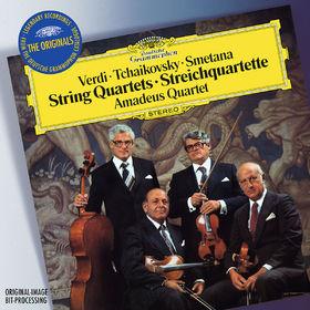 Verdi / Tchaikovsky / Smetana: String Quartets, 00028947919247
