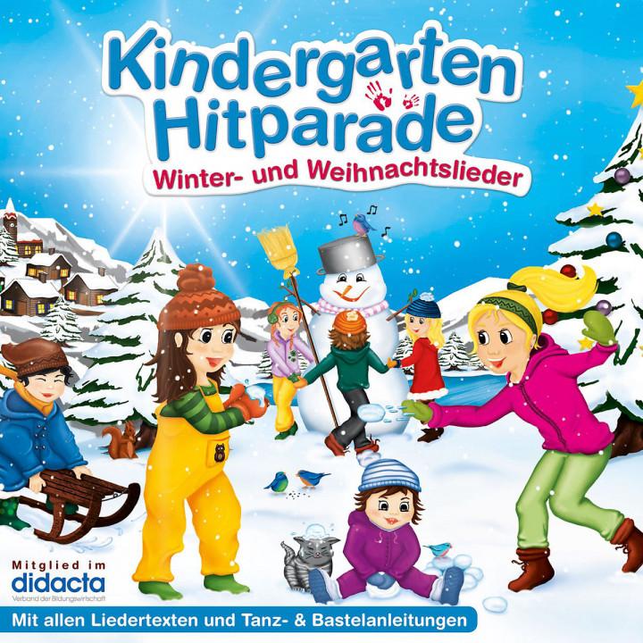 Die Kindergarten Hitparade - 03: Winter- und Weihnachtslieder