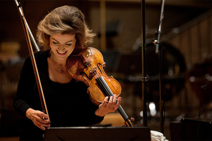 Anne-Sophie Mutter 2013 in der Philharmonie, Berlin