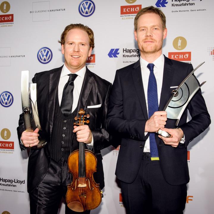 08—ECHO Klassik 2013—Daniel Hope und Max Richter