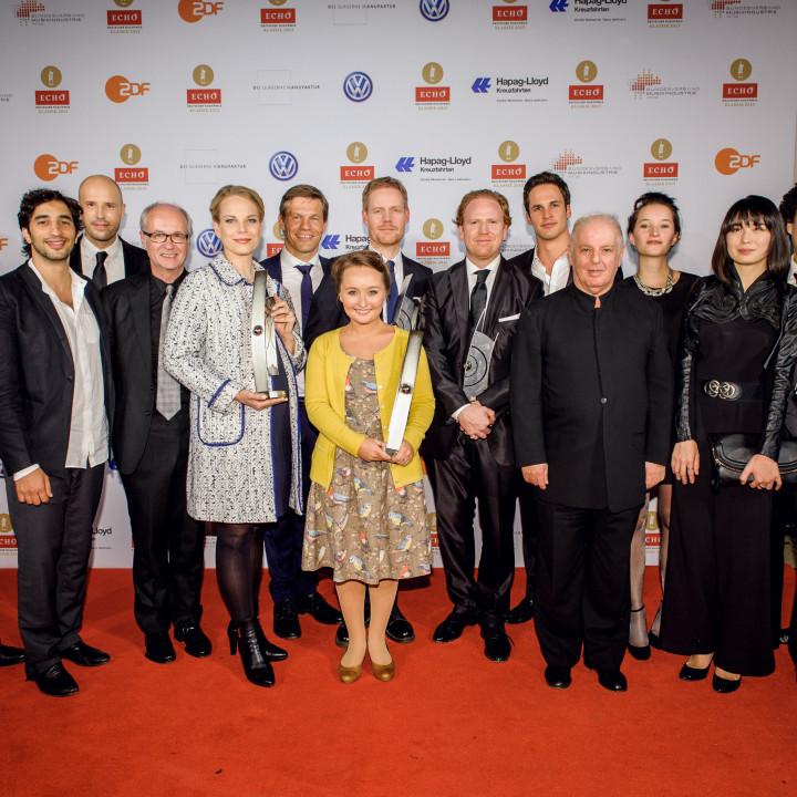 02—Deutsche Grammophon und Decca beim ECHO Klassik 2013