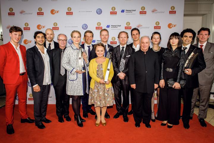 Die Künstler von Deutsche Grammophon und Decca beim ECHO Klassik 2013