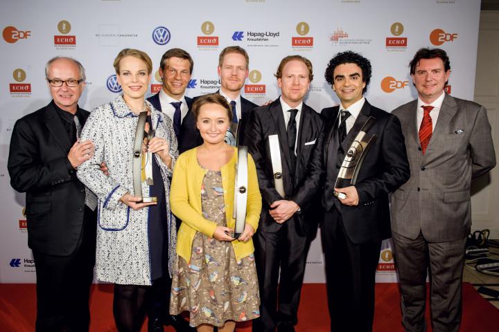 ECHO Klassik 2013: UNIVERSAL MUSIC gratuliert seinen Preisträgern