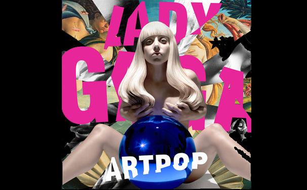 Lady Gaga, Lady Gaga präsentiert das ARTPOP Albumcover