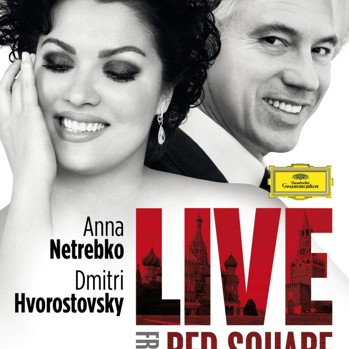 Anna Netrebko Live From Red Square DVD Blu-Ray
