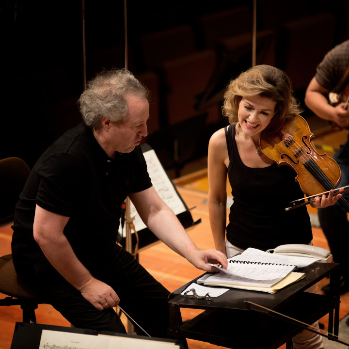 Manfred Honeck, Anne-Sophie Mutter, Berliner Philharmoniker