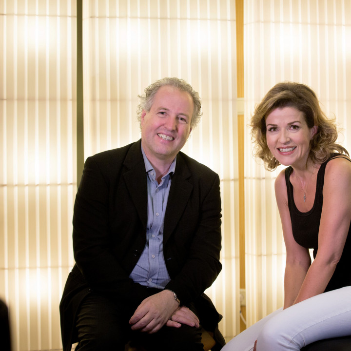 Manfred Honeck und Anne-Sophie Mutter