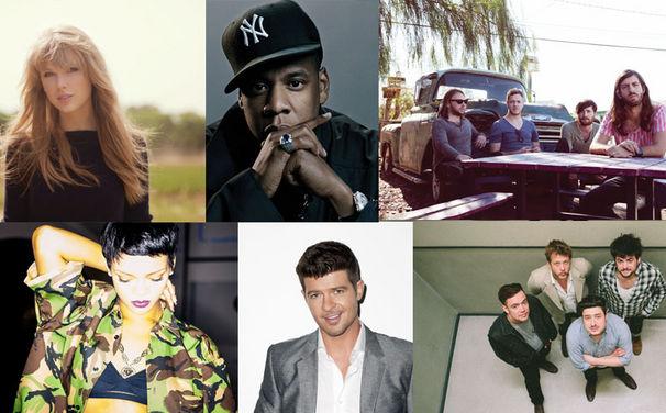 Taylor Swift, Das sind die nominierten Universal-Künstler bei den American Music Awards 2013