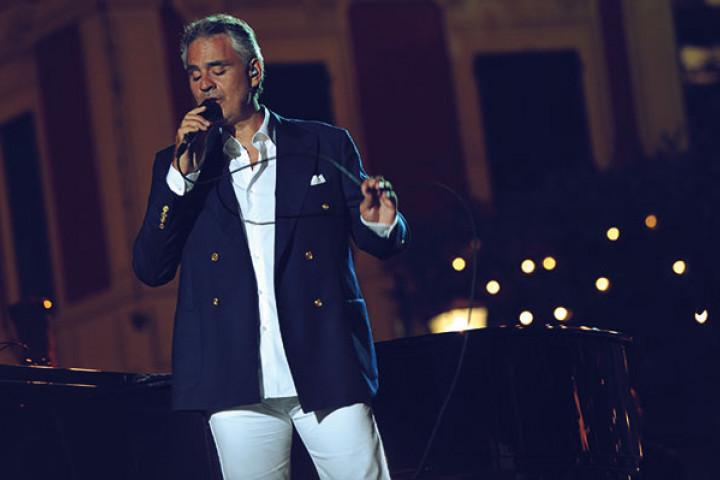 Andrea Bocelli live in Portofino / Italy