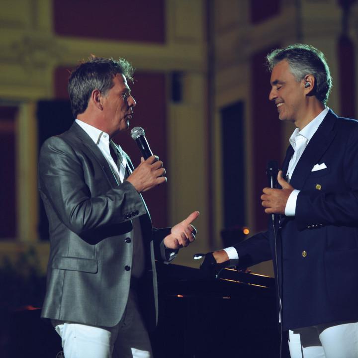 David Foster und Andrea Bocelli