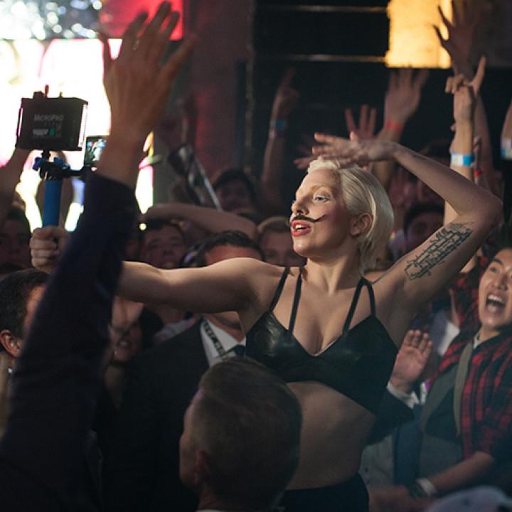 Lady Gaga im Berghain, Berlin