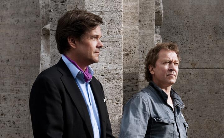 NIls Petter Molvaer und Moritz von Oswald (Foto: Marion Benoit)
