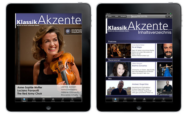 KlassikAkzente iPad App