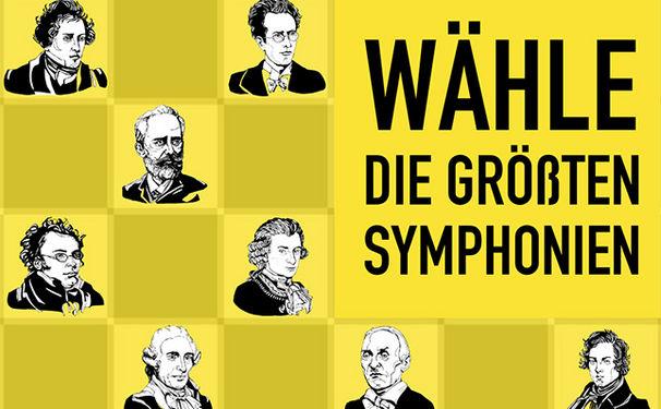 Hörer-Edition: Deutsche Grammophon sucht die 100 beliebtesten Symphonien