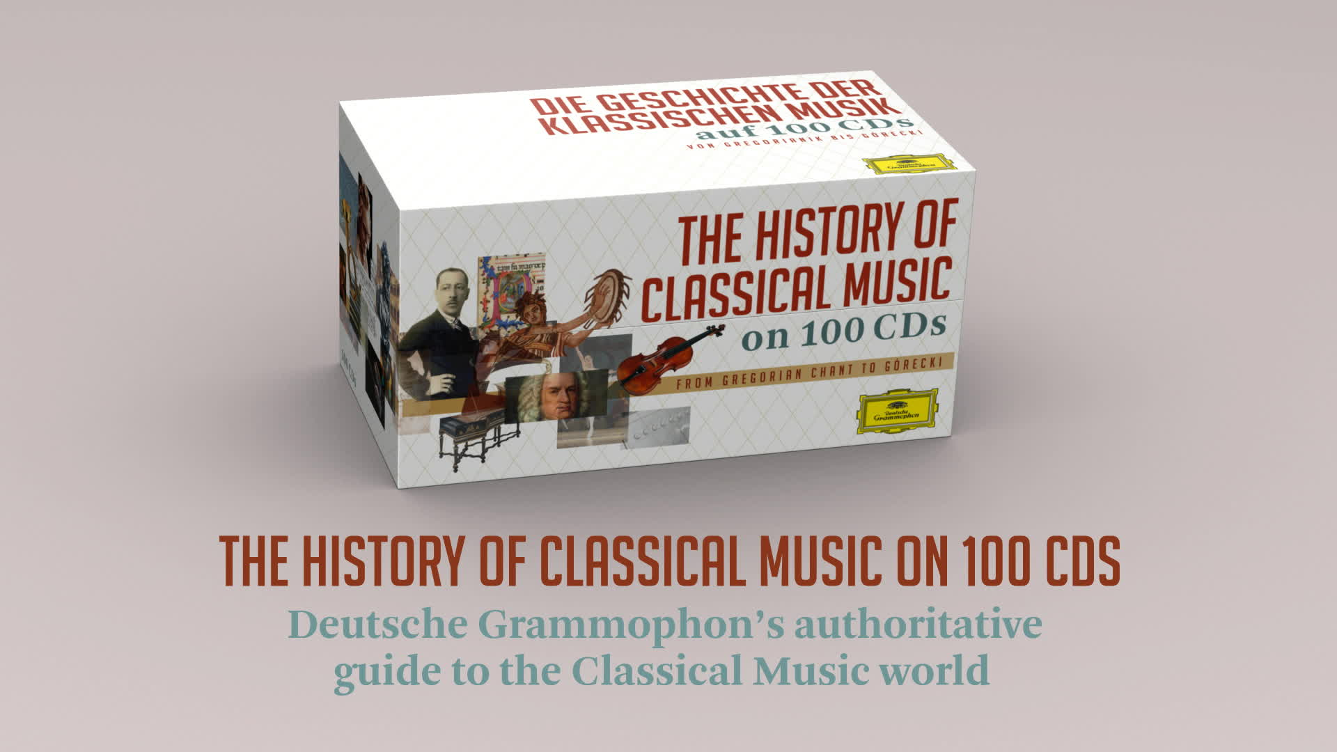 Diverse Künstler, A History Of Classical Music