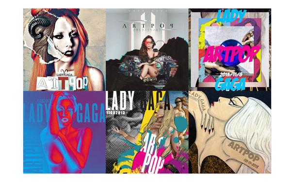 Lady Gaga, Die Lady Gaga ARTPOP Competition - wählt jetzt eure Favoriten