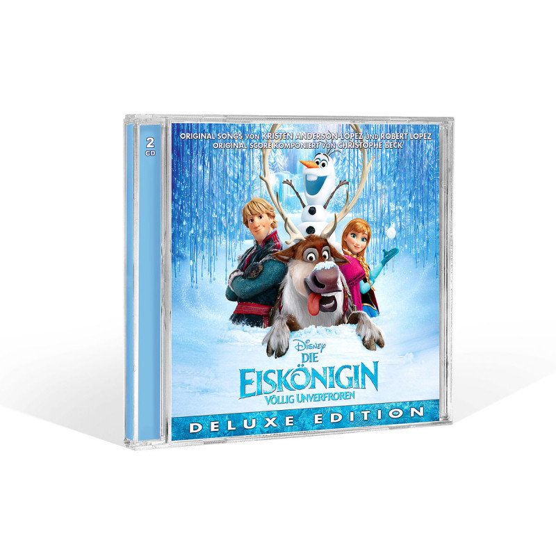 Die Eiskönigin (Frozen) - 2 CD Deluxe Edition (deutsche Version)