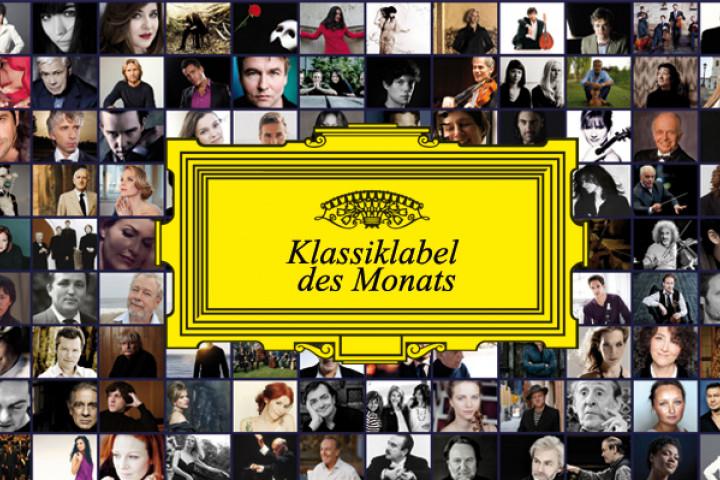 Deutsche Grammophon ist Klassiklabel des Monats bei Amazon