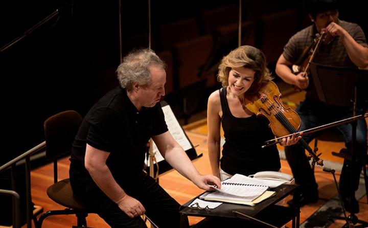 Manfred Honeck, Anne-Sophie Mutter, Berliner Phiharmoniker