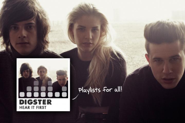 "London Grammal Digster Playlist ""Hear It First"""