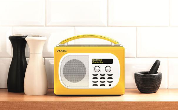 Radiohören wird Gelb