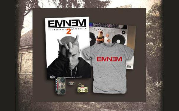 Eminem, Bis zum 29. November mitmachen: Gewinnt ein Eminem Fanpaket von Digster