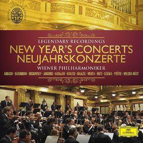 Wiener Philharmoniker, Neujahrskonzerte - Legendary Recordings, 00028947924975