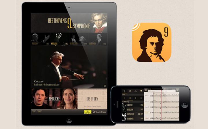 """Die App """"Beethoven 9"""""""