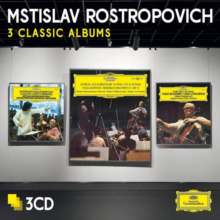 Rostropovich-3 Classic Albums (Ltd. Edt.)