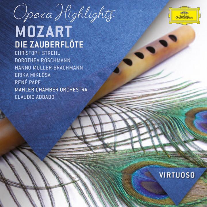 Die Zauberflöte (Highlights): Röschmann/Brachmann/Pape/Abbado/+