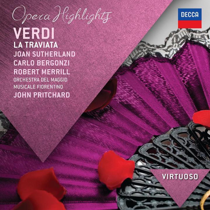 La traviata (Highlights): Sutherland/Bergonzi/Merill/Pritchard/+