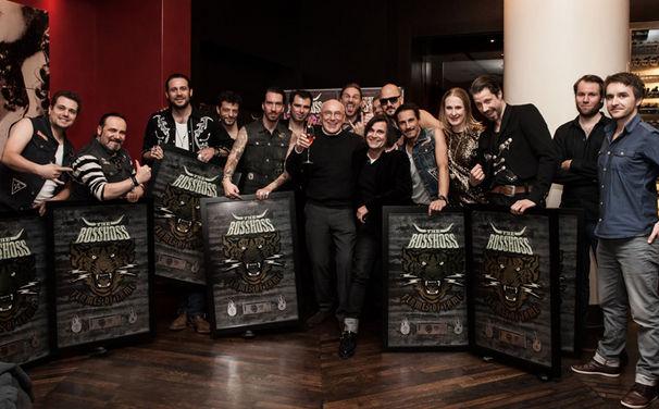 The BossHoss, The BossHoss wurden mit dem Platin-Ticket-Award ausgezeichnet