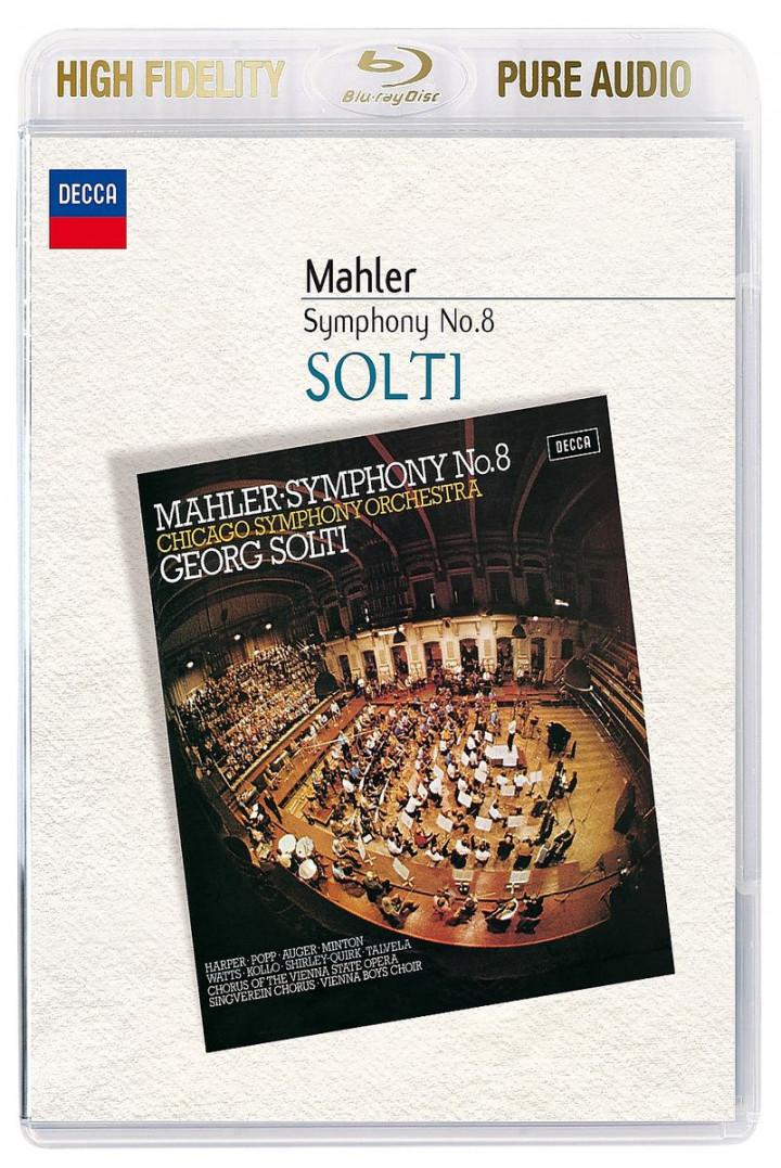 Mahler: Symphonie Nr. 8 (Symphonie der Tausend): Solti,Georg/Wiener Staatsopernchor/CSO