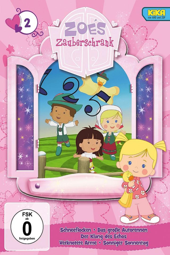 2: Schnee/Rennen/Echo/Verknotete Arme/Sonnentag: Zoes Zauberschrank (DVD zur TV-Serie)