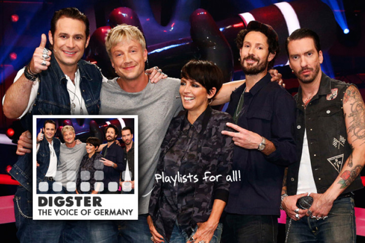 "Digster Playlist ""The Voice Of Germany 2013"""